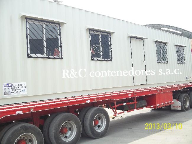 TRANSPORTE DE MODULO DE OFICINA DE 40 HC